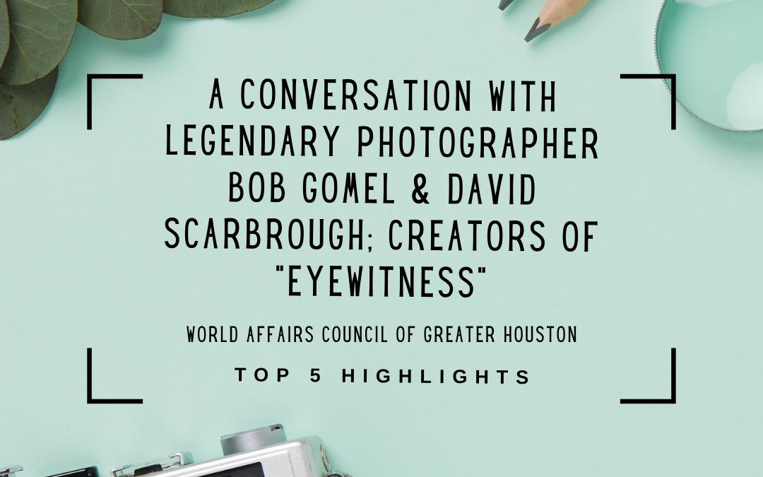 Bob Gomel: Eyewitness – A Top 5 Highlights Piece