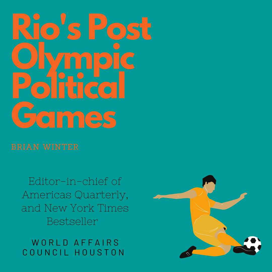 Rios Post Olympic Political Games Brian Winter